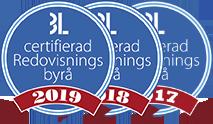 Avanta Ekonomi är en Certifierad Redovisningsbyrå av Björn Lundén, åren 2017, 2018, 2019.